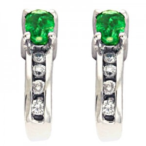 Ladies Gemstone Earrings E1119-EWG