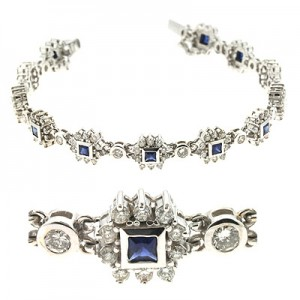 Ladies Gemstone Bracelet B4214-SWG