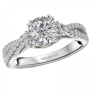 Split Shank Semi-Mount Diamond Ring 117666-100