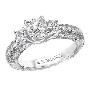 Ladies Romance Collection Engagement Ring 117743-100