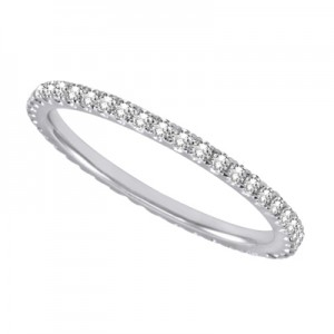 Ladies Eternity Band Wedding Band d4129-6pl