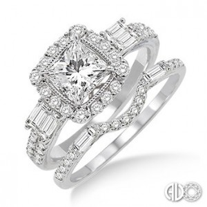 Ladies I Do Collection Engagement Ring 19390FVWG-WS-1.30