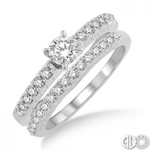 Ladies I Do Collection Engagement Ring 19212FVWG-WS