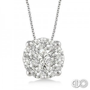 Ladies Lovebright Collection Pendant 91752FVPDWG