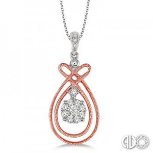 Ladies Lovebright Collection Pendant 64846FHPDPW