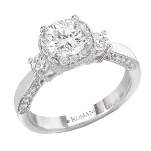 Ladies Romance Collection Engagement Ring 117397-100