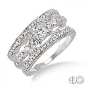 Ladies I Do Collection Engagement Ring 22373FVWG-WS