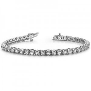 Ladies Diamond Bracelet B4331-8WG
