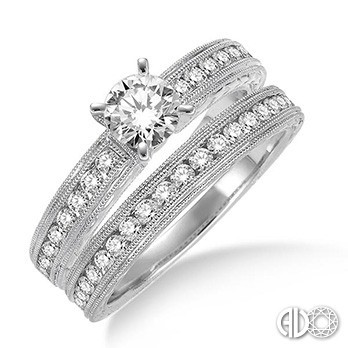 Ladies I Do Collection Engagement Ring 21810FVWG-WS-1.25