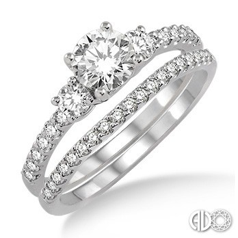 Ladies I Do Collection Engagement Ring 14641FHWG-WS