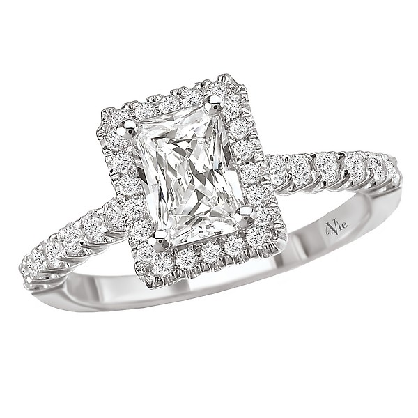 Halo Semi-Mount Diamond Ring 115037-100A