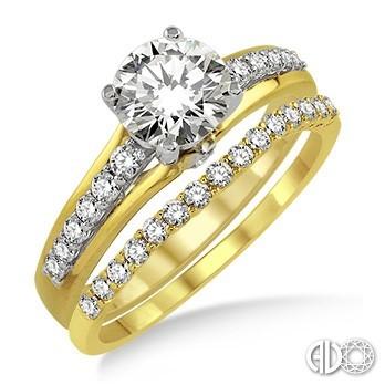 Ladies I Do Collection Engagement Ring 14742FHYW-WS