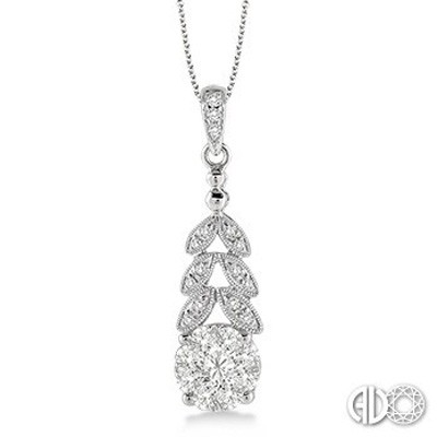 Ladies Lovebright Collection Pendant 64814FNPDWG