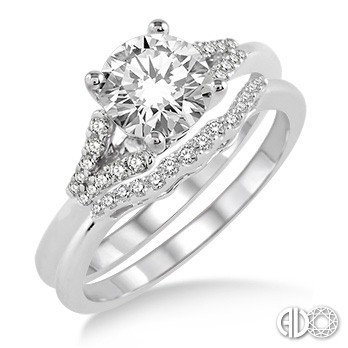 Ladies I Do Collection Engagement Ring 14823FHWG-WS