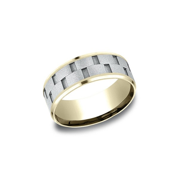 Designs Multi-Gold 8mm Band