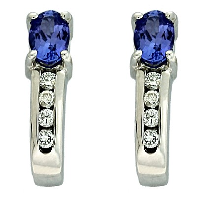 Ladies Gemstone Earrings E1234-TWG