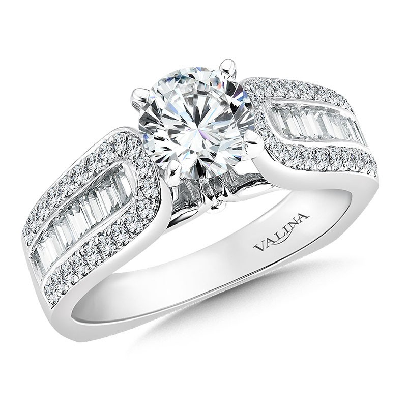 Engagement Ring R036W