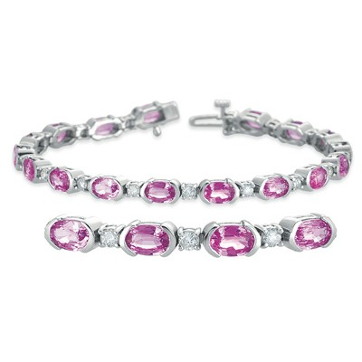 Ladies Gemstone Bracelet B4315-SPWG