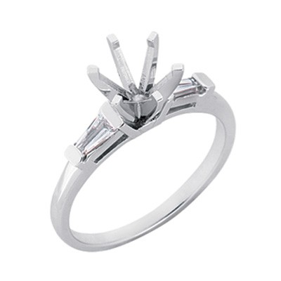 Ladies Channel Set Engagement Ring EN1509-4.0MPL