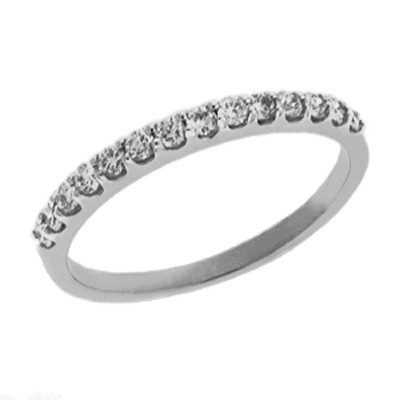Ladies Prong Set Wedding Band D3599-PL