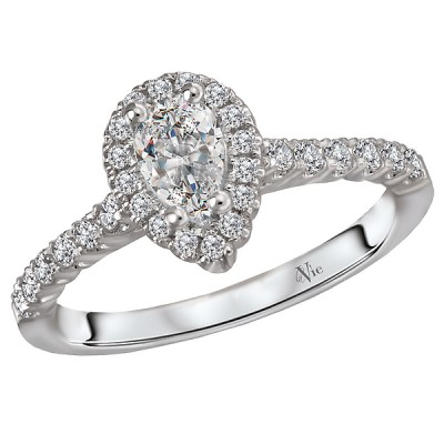 Halo Semi Mount Diamond Ring 115219-050