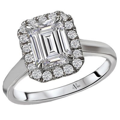 Halo Semi-Mount Diamond Ring 115336-100A