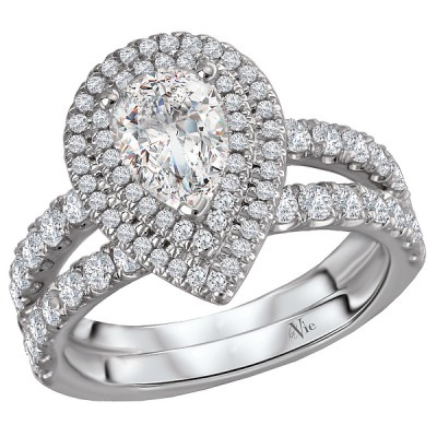 Split Shank Semi-Mount Diamond Ring 115400-100