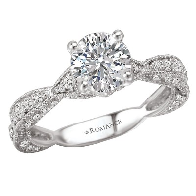 Classic Semi-Mount Diamond Ring 117529-100