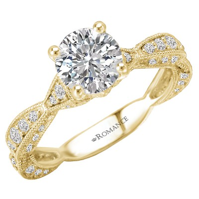 Classic Semi-Mount Diamond Ring 117529-100Y