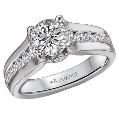 Classic Semi-Mount Diamond Ring 117857-100