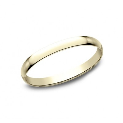 CLASSIC Mens 14k Yellow Gold Wedding Band 112Y