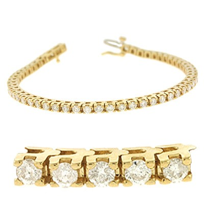 Ladies Diamond Bracelet B4012-3