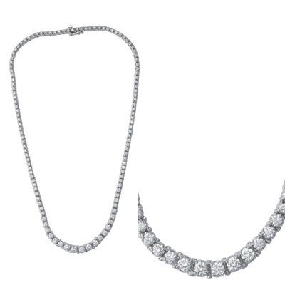 Ladies Necklace N1137WG