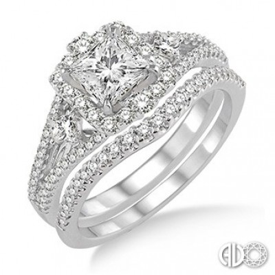 Ladies I Do Collection Engagement Ring 14721FHWG-WS