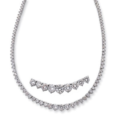 Ladies Necklace N1146WG