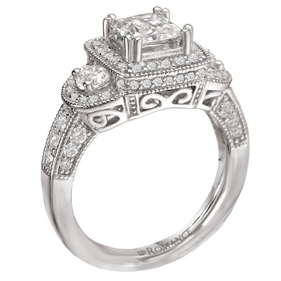 Ladies Romance Collection Engagement Ring 117757-100