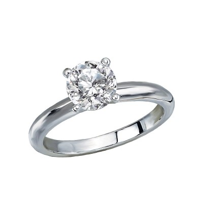 Lavie Solitaire Semi-Mount Diamond Ring