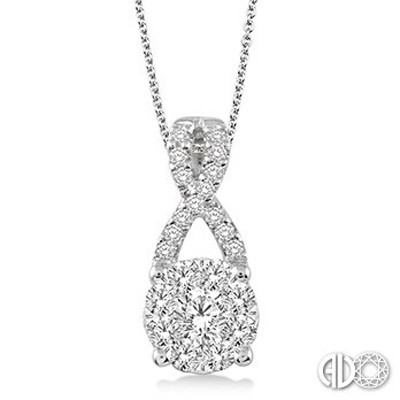 Ladies Lovebright Collection Pendant 94883FVPDWG