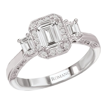 Ladies Romance Collection Engagement Ring 117396-100