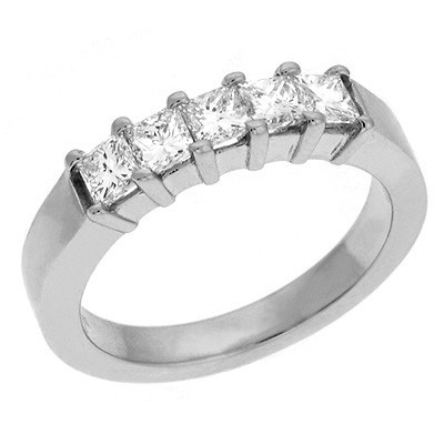 Ladies Prong Set Wedding Band D3522-PL