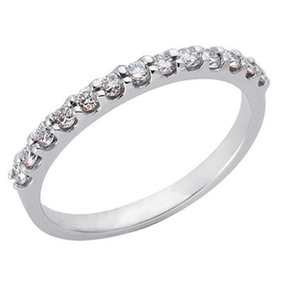 Ladies Prong Set Wedding Band EN6593-BPL