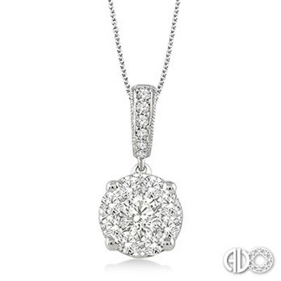 Ladies Lovebright Collection Pendant 94893FVPDWG