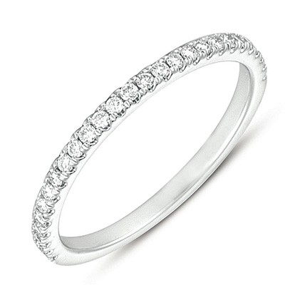 Ladies Prong Set Wedding Band EN7199-BPL