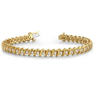 Ladies Diamond Bracelet B4005-3