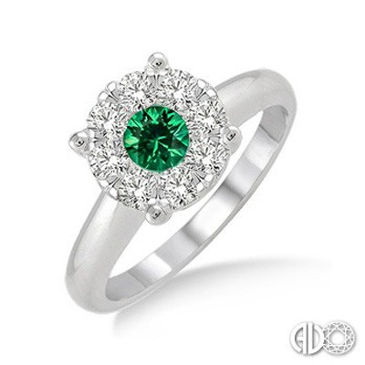 Ladies Lovebright Collection Fashion Ring 40885FVEMWG