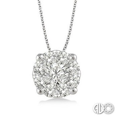 Ladies Lovebright Collection Pendant 91755FVPDWG