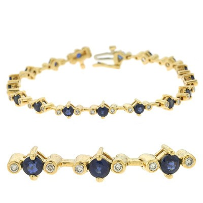 Ladies Gemstone Bracelet B4310-S
