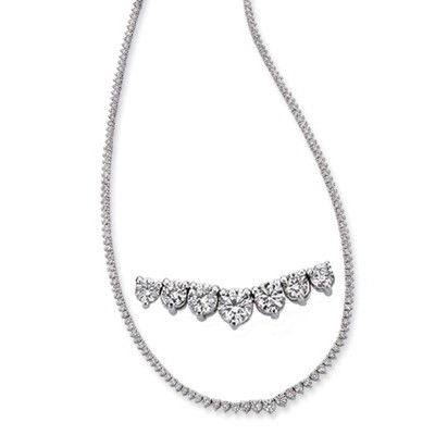 Ladies Necklace N1144WG