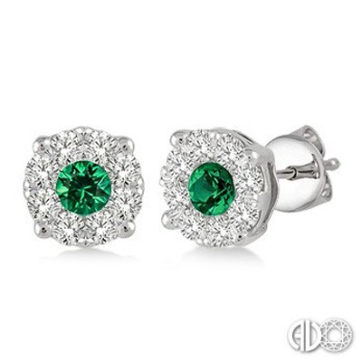 Ladies Lovebright Collection Earrings 58473FVEREMWG