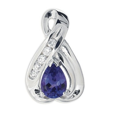 Ladies Gemstone Pendant P2520-TWG